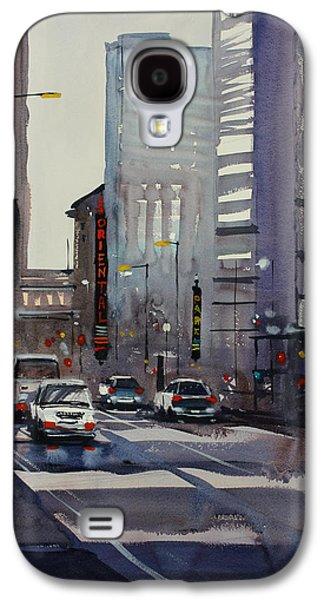 Oriental Theater - Chicago Galaxy S4 Case by Ryan Radke