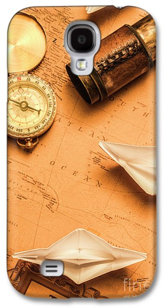 Origami Paper Boats On A Voyage Of Exploration Galaxy S4 Case