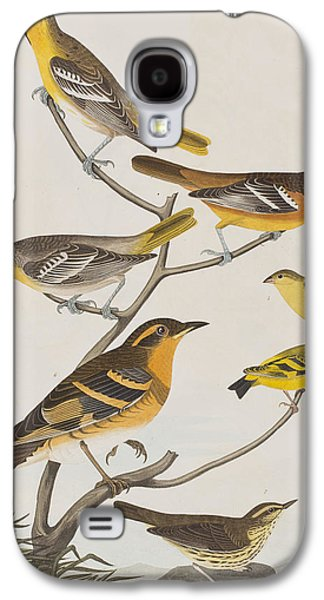 Orioles Thrushes And Goldfinches Galaxy S4 Case