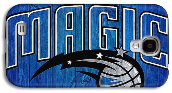 Orlando Magic Graphic Barn Door Galaxy S4 Case by Dan Sproul