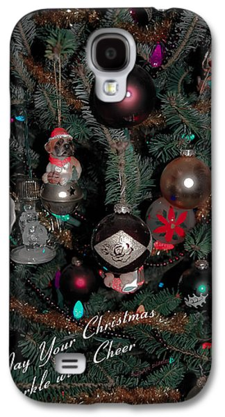 Ornamental Galaxy S4 Case by DigiArt Diaries by Vicky B Fuller