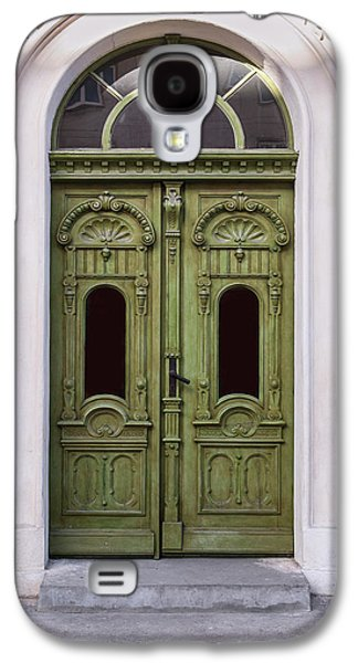 Ornamented Gates In Olive Colors Galaxy S4 Case
