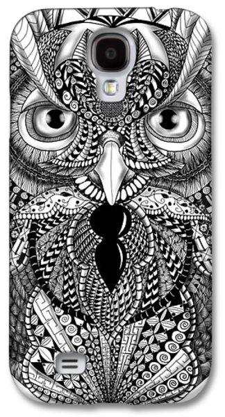 Ornate Owl Galaxy S4 Case
