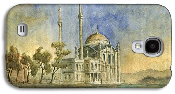 Ortakoy Mosque Istanbul Galaxy S4 Case by Juan Bosco