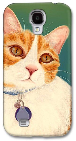 Oscar- Orange Tabby  Galaxy S4 Case