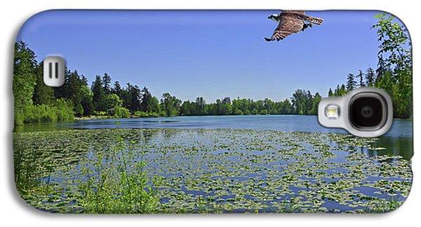 Osprey Fishing At Wapato Lake Galaxy S4 Case
