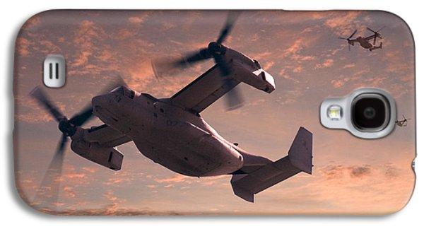 Ospreys In Flight Galaxy S4 Case by Mike McGlothlen
