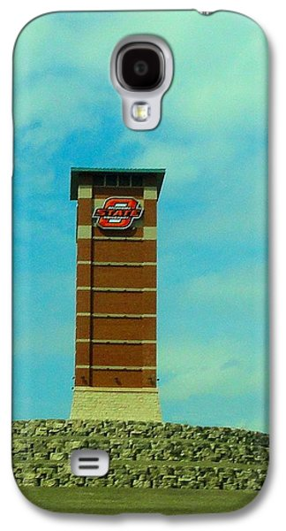 Oklahoma State University Gateway To Osu Tulsa Campus Galaxy S4 Case by Janette Boyd