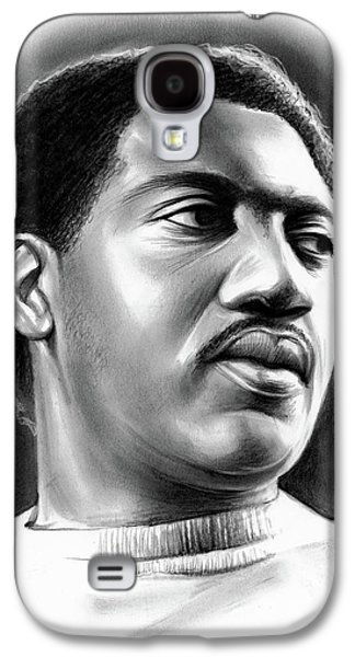 Rhythm And Blues Galaxy S4 Case - Otis Redding by Greg Joens