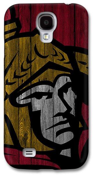 Ottawa Senators Wood Fence Galaxy S4 Case by Joe Hamilton