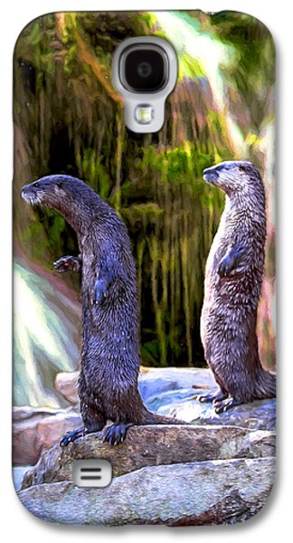 Otter Be On Vacation Galaxy S4 Case