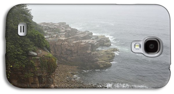Otter Cliffs - Acadia National Park Maine Galaxy S4 Case by Brendan Reals
