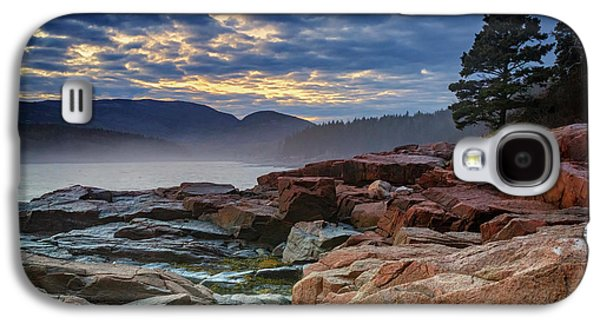 Otter Cove In The Mist Galaxy S4 Case by Rick Berk