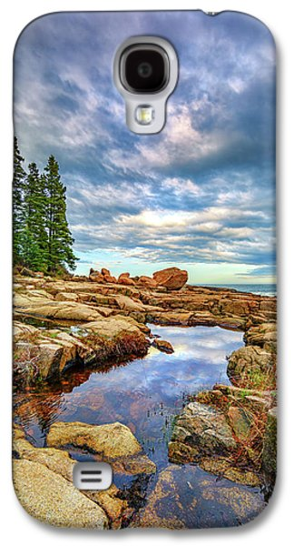 Otter Point Reflections Galaxy S4 Case by Rick Berk