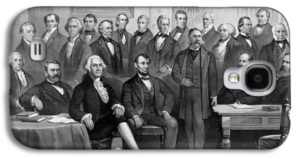 Our American Presidents 1789 - 1881  Galaxy S4 Case by War Is Hell Store