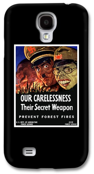 Our Carelessness - Their Secret Weapon Galaxy S4 Case