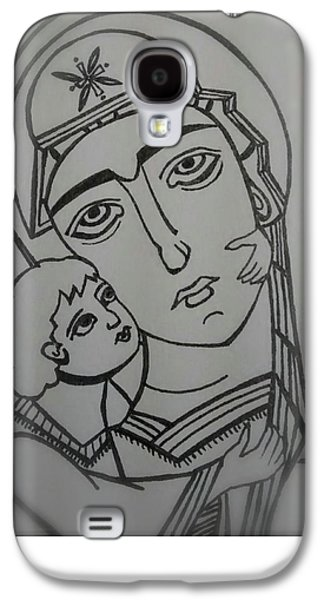 Our Lady Of Perpetual Help Galaxy S4 Case by Danielle Tayabas