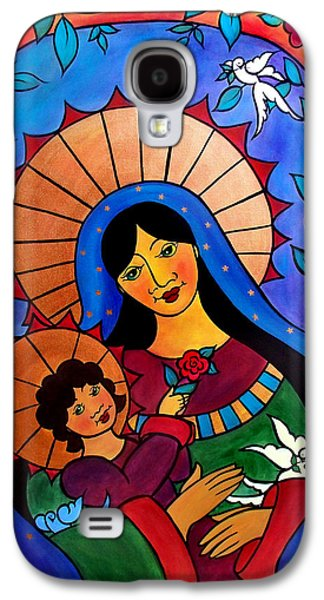 Our Lady Of The Garden Galaxy S4 Case