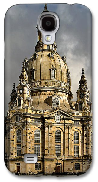 Deutschland Galaxy S4 Cases - Our Ladys Church of Dresden Galaxy S4 Case by Christine Till