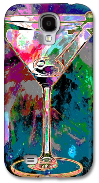 Out Of This World Martini Galaxy S4 Case by Jon Neidert
