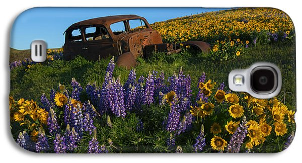 Out To Pasture Galaxy S4 Case by Mike Dawson