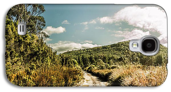Outback Country Road Panorama Galaxy S4 Case by Jorgo Photography - Wall Art Gallery