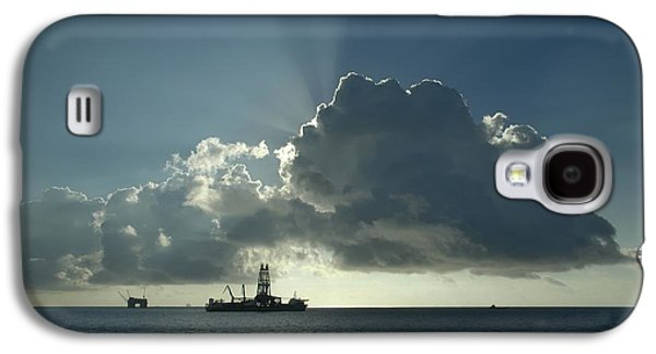 Outer Continental Shelf Oilfield  Galaxy S4 Case