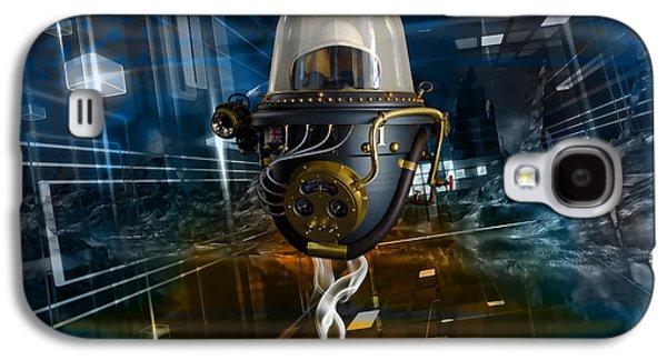 Outer Space Traveler Galaxy S4 Case