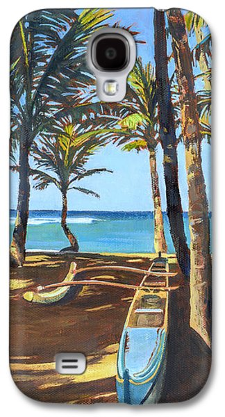 Outrigger Canoe At Mama's Fish House Galaxy S4 Case
