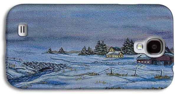 Over The Bridge And Through The Snow Galaxy S4 Case