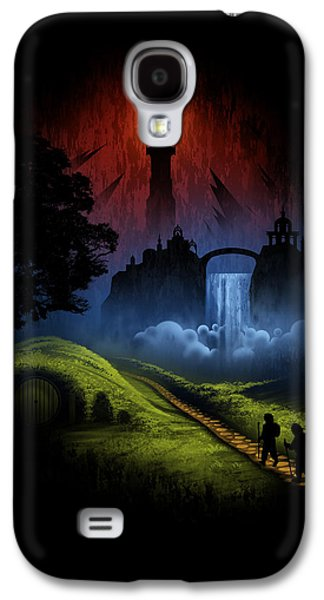 Over The Hill Galaxy S4 Case by Alyn Spiller
