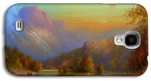 Over The Hills To Killarney Galaxy S4 Case by Joe Gilronan