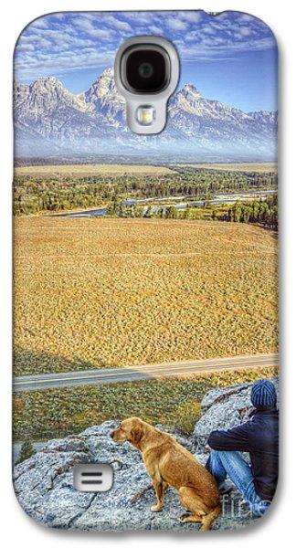 Overlooking The Grand Tetons Jackson Hole Galaxy S4 Case