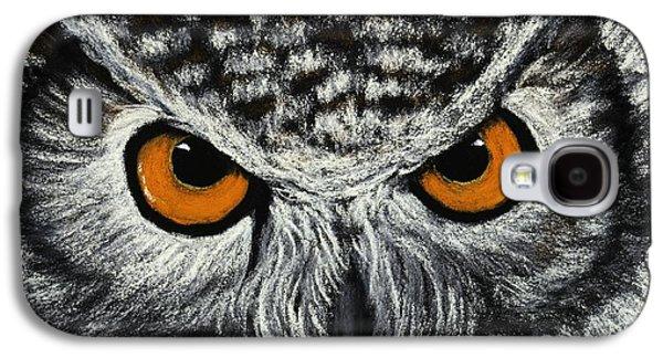 Owl Eyes Galaxy S4 Case