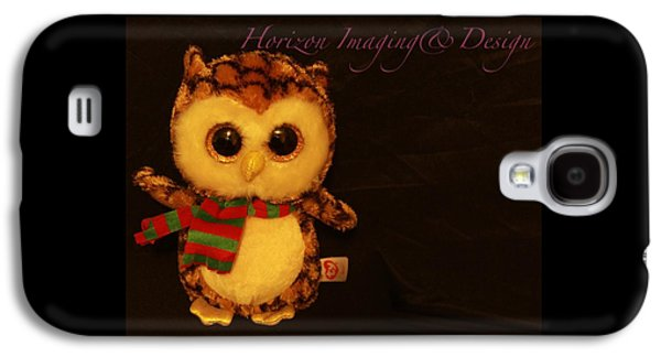 Owl In The Darkness Galaxy S4 Case by John Strapp