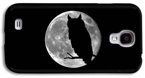 Owl Moon .png Galaxy S4 Case by Al Powell Photography USA