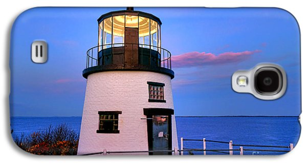 Owls Head Light Evening Galaxy S4 Case by Olivier Le Queinec