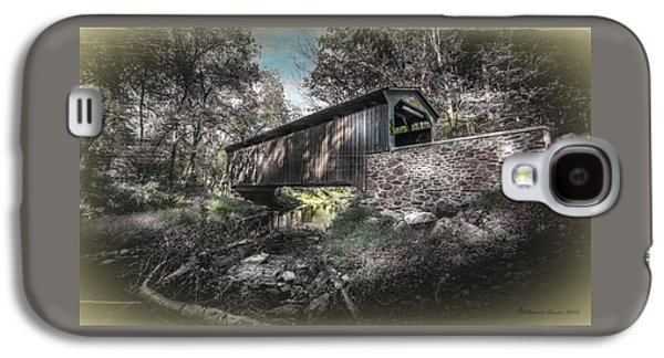 Oxford Covered Bridge Galaxy S4 Case by Marvin Spates