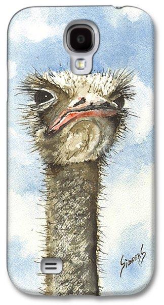 Ostrich Galaxy S4 Case - Ozzie by Sam Sidders