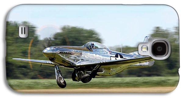 P-51 Takeoff Galaxy S4 Case