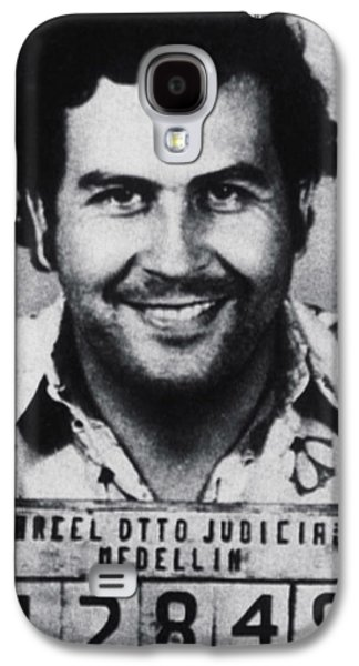 Pablo Escobar Mug Shot 1991 Vertical Galaxy S4 Case