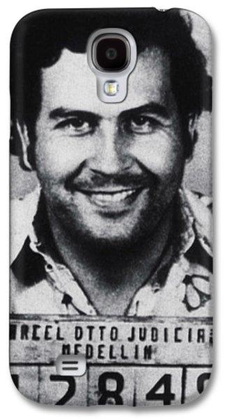 Pablo Escobar Mug Shot 1991 Vertical Galaxy S4 Case