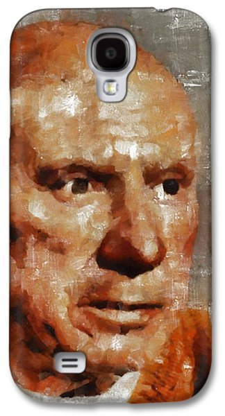 Pablo Picasso, Artist Galaxy S4 Case by Mary Bassett