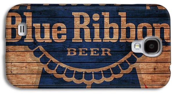 Pabst Blue Ribbon Barn Door Galaxy S4 Case