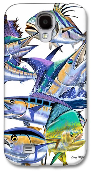 Pacific Gamefish  Galaxy S4 Case by Carey Chen