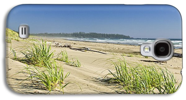 Vancouver Photographs Galaxy S4 Cases - Pacific ocean shore on Vancouver Island Galaxy S4 Case by Elena Elisseeva