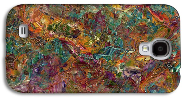 Paint Number 16 Galaxy S4 Case by James W Johnson
