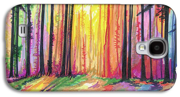 Paint The Forest Galaxy S4 Case