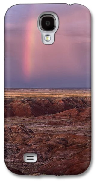 Painted Desert Rainbow Galaxy S4 Case by Melany Sarafis