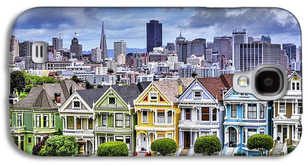 Painted Ladies Of San Francisco  Galaxy S4 Case